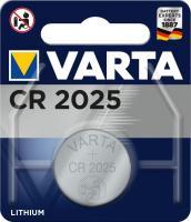Батарейка литиевая VARTA CR2025 BL1 1шт.