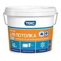 Краска для потолка универсал 7 кг ТЕКС