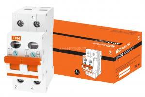 Выключатель нагрузки TDM ВН-32 2P 40А