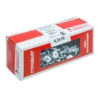 Саморезы для тонк. пластин с буром 4,2x16 белый цинк 200 шт