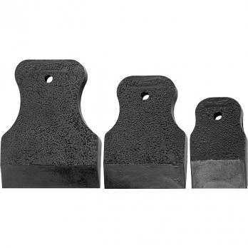Набор шпателей 40-60-80 мм, черная резина, 3 шт.// MATRIX