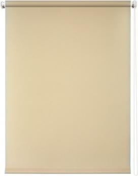 Рулонная штора 160х175 Плайн (Бежевый)