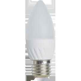 Лампа светодиодная Ecola свеча E27 6W 4000K