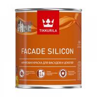 Краска фасадная FACADE Silicon VVA глубокоматовая 0,9л Тиккурила