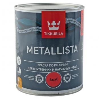 Краска по ржавчине METALLISTA С глянцевая 0.9л Тиккурила
