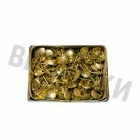 Гвозди мебельные BF обивочные (130 шт.) РВ Полированная латунь