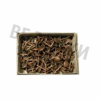 Гвозди мебельные BF обивочные (130 шт.) АС Медь