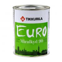 Эмаль Евро Миркалкид 90 А / ПЕСТО 90 А высокоглянцевая 0.9л Тиккурила