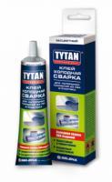 Клей холодная сварка для наполных покрытий из ПВХ и пластика 100 мл TYTAN Professional