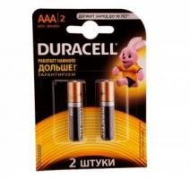 Батарейки щелочные DURACELL LR03 (AAA) Ultra Power 1.5В 2шт.