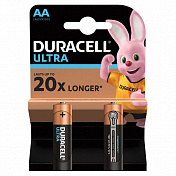 Батарейки щелочные DURACELL LR6 (AA) Ultra Power 1.5В 2шт.