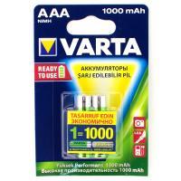 Аккум. VARTA R03 (AAA) Ni-MH 1000mAh предзаряженный бл/2