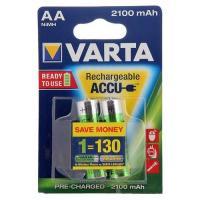 Батарейки аккумуляторные VARTA R6 (AA) Ni-MH 2100mAh LongLife Ready2Use 2шт.