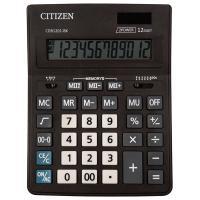 Калькулятор настольный CITIZEN BUSINESS LINE CDB1201BK (205x155мм), 12 разрядов, двойное питание