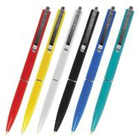 Ручка шариковая автомат. SCHNEIDER (Германия) К15, корпус ассорти, 1мм, линия 0,5мм (Синяя)