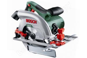 Дисковая пила Bosch PKS 55, 1200 Вт, 160мм