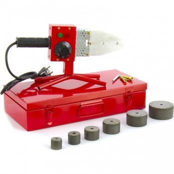 Аппарат для сварки полипропиленовых труб KRONWERK КW 800, 800 Вт, 20-25-32-40-50-63 мм