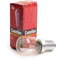Лампа накаливания Camelion E14 15W 220V (+300°) прозрачная (для духовок)