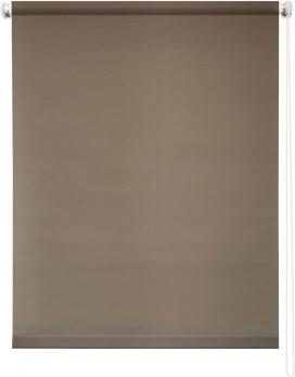 Рулонная штора 60х175 Плайн (Молочный шоколад)