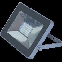 Ecola прожектор св/д 10W 4200 4K 100x80x26 серебристо-серый IP65