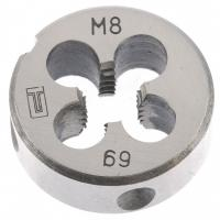 Плашка М8 х 1,25 мм// Сибртех