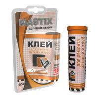 Клей Mastix д/батарей и труб 55гр, BL (холодная сварка), арт.МС-0114