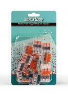 Компактнаясоединительнаяклемма3-хпроводнаясрычажками 20шт/уп Samartby