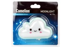 Ночник 0.5W 4LED 100x60x50 Облако 220V Camelion NL-178