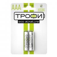 Батарейки ТРОФИ ECO LR03/286 BL2 2шт.