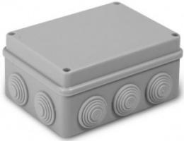 Коробка распред. uplast 150х110х70мм ОУ 10 вводов с крышкой IP55 050-041