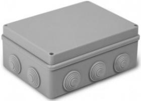 Коробка распред. uplast  190х140х70мм ОУ 10 вводов с крышкой IP55 050-042
