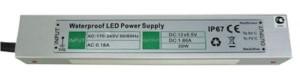 Блок питания Ecola для св/д лент 12V 60W IP67 179х71х43 (герметичный) B7L060ESB