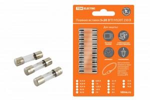 Плавкая вставка TDM Н520Б 10А 250В (уп. 10 шт, цена за уп.) SQ0738-0016
