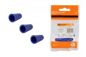 Соединительный изолирующий зажим TDM СИЗ-2 4,5 мм2 синий (5 шт) (200!) SQ0519-0027