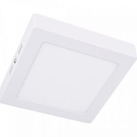 Ecola св-к накладной св/д даунлайт 6W 6500K квадрат 120x120x32