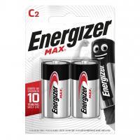Батарейка щелочная ENERGIZER LR14 (C) MAX 1.5B бл/2