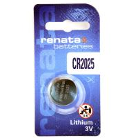 Батарейка литиевая RENATA CR2025 дисковая 3В бл/1