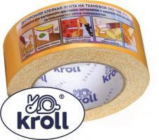Клейкая лента двусторонняя PVC 38*10 kroll