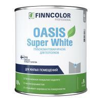 ФИННКОЛОР краска OASIS SUPER WHITE д/потолков  0.9 л
