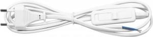 Feron сет. удл.-шнур для бра выкл. 1.9м белый KF-HK-1 23048