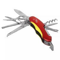 Нож перочинный, 15см, многофункциональный, 11 функций, нержавеющая сталь ЧИНГИСХАН