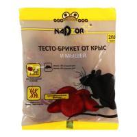 Тесто-брикет от крыс и мышей, 100г Nadzor