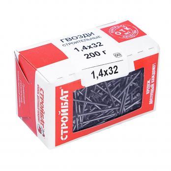Гвозди  строительные 1,4х32 (0,2 кг)