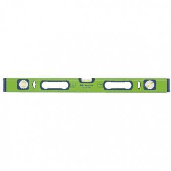 Уровень алюминиевый УС-1,0-800, фрезерованный, 3 глазка, рукоятки, 800 мм// СИБРТЕХ