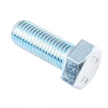 Болт DIN 933 М 8x 30 белый цинк 30 шт