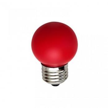 Лампа накаливания Neon Night шар G45 E27 10W красная матова (для гирлянды