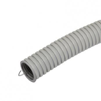 Труба гофрированная ПВХ 25мм с зондом (бухта 25м)