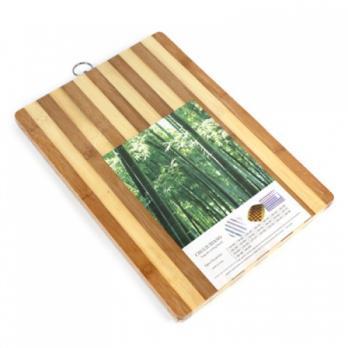 Доска разделочная бамбуковая 24х34х1,7см